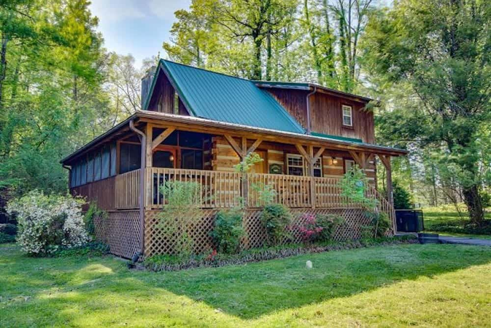 angler's perch cabin near downtown gatlinburg