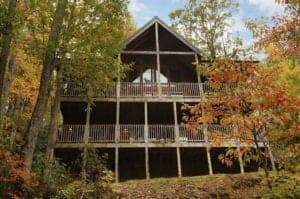 Above It All secluded cabin in gatlinburg