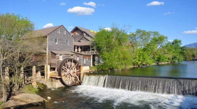 Photo of The Old Mill in Pigeon Forge TN.