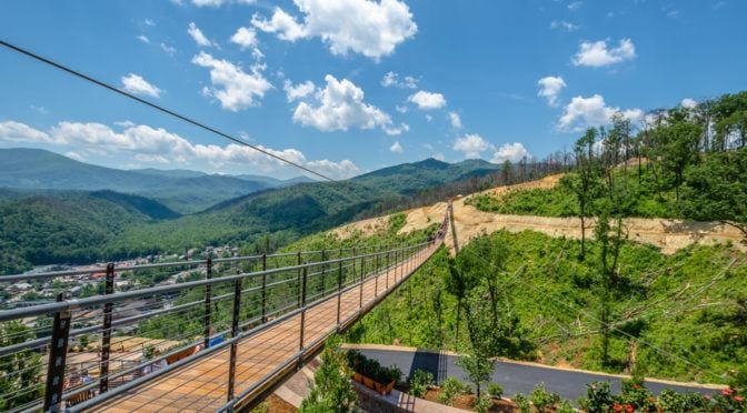 Gatlinburg SkyBridge at SkyLift Park